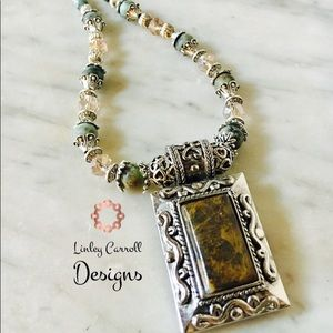 Jewelry - African Turquoise Necklace